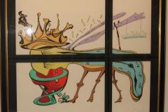 """Custom Framed Art: """"The Dali"""""""