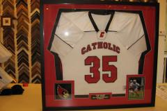Catholic University game jersey
