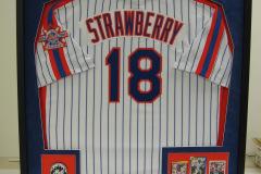 Custom Framed Professional Baseball Jersey