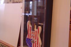Custom Framed Electric Guitar